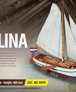 Catalina Mamoli: kit di montaggio in legno MV51
