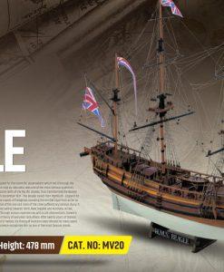 Beagle Mamoli: kit di montaggio in legno MV20