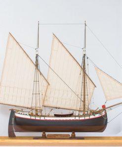 Trabaccolo Marisstella Ltd: kit di montaggio in legno art 921