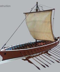 Liburna mercantile novilara Marisstella Ltd kit di montaggio in legno art 910