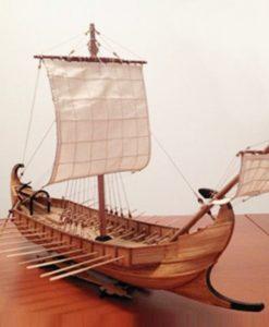 Liburna monoreme Marisstella Ltd kit di montaggio in legno art 915