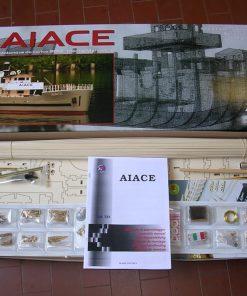 Aiace mantua model: kit di montaggio in legno art 602