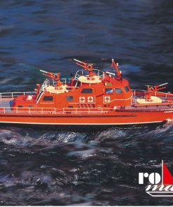Dusseldorf fire fighting boat romarin krick: RC motor ro1100