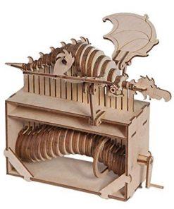 Taddeo il drago volante di Leonardo da Vinci: Riciclandia