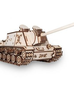 Tank ISU152 modellino in legno: EWA Eco Wood Art
