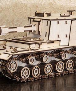 Tank SAU212 modellino in legno: EWA Eco Wood Art