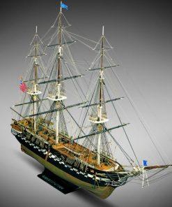 USS Constitution Mamoli: kit di montaggio in legno MV31