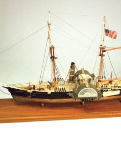 Harriet Steam Paddle Cutter 1857 ModelExpo