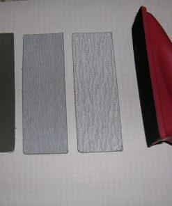 Tampone carta vetrata con 3 ricambi Mantua Model art 8196
