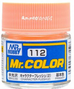 112 character flesh flat Mr hobby colore acrilico