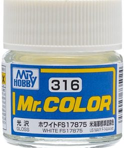 316 white flat Mr hobby colore acrilico