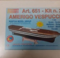Amerigo Vespucci 1/84 kit 2 Mantua Model Panart art 651