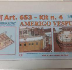 Amerigo Vespucci 1/84 kit 4 Mantua Model Panart art 653