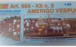 Amerigo Vespucci 1/84 kit 5 Mantua Model Panart art 654