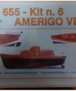 Amerigo Vespucci 1/84 kit 6 Mantua Model Panart art 655