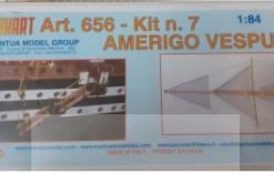 Amerigo Vespucci 1/84 kit 7 Mantua Model Panart art 656