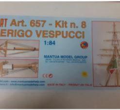 Amerigo Vespucci 1/84 kit 8 Mantua Model Panart art 657