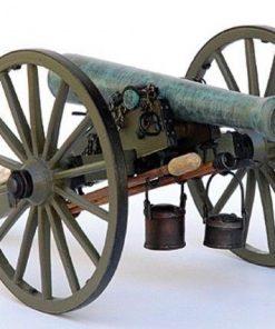 Cannone napoleonico 12 libbre con carro traino modelexpo