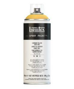 Liquitex spray colore acrilico 163 giallo di cadmio scuro 400 ml
