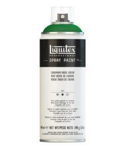 Liquitex spray colore acrilico 166 verde ossido di cromo 400 ml