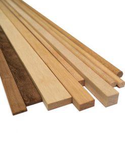 Listelli legno faggio 3x3 corel art ls256