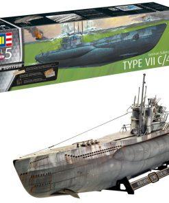 Sottomarino tedesco u-boot type VII C/41 revell art 05163