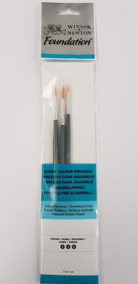 Pennelli per acquarelli Winsor Newton Foundation wn003
