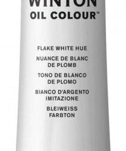 Colore a olio Winsor & Newton Winton bianco argento