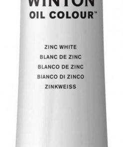 Colore a olio Winsor & Newton Winton bianco di zinco