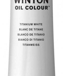 Colore a olio Winsor & Newton Winton bianco titanio