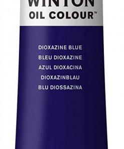 Colore a olio Winsor & Newton Winton blu diossazina