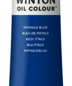 Colore a olio Winsor & Newton Winton blu ftalo