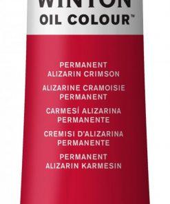 Colore a olio Winsor & Newton Winton cremisi d'alizarina
