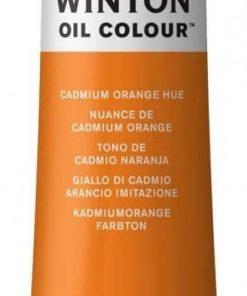Colore a olio Winsor & Newton Winton giallo cadmio arancione