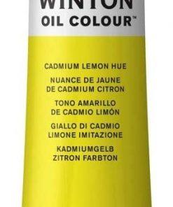Colore a olio Winsor & Newton Winton giallo cadmio limone