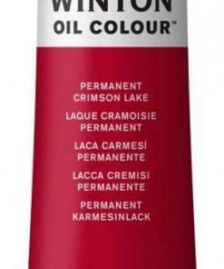 Colore a olio Winsor & Newton Winton lacca cremisi permanente