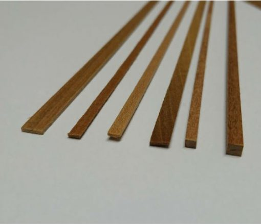 Listelli legno noce 1x1.5 mm mantua model art 80003