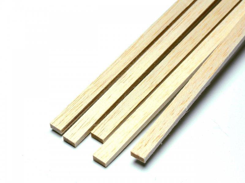 Listello balsa 1.5x1.5x1000 mm Pichler C9633