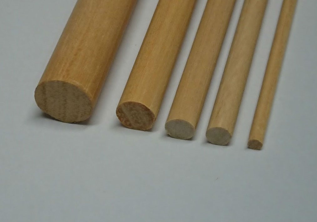 Tondini legno ramino 12x1000 mm mantua model art 89008